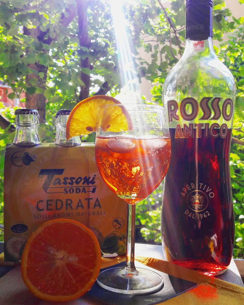 Apertass; Cedrata Tassoni; Rosso Antico bitter; bitter; cocktail