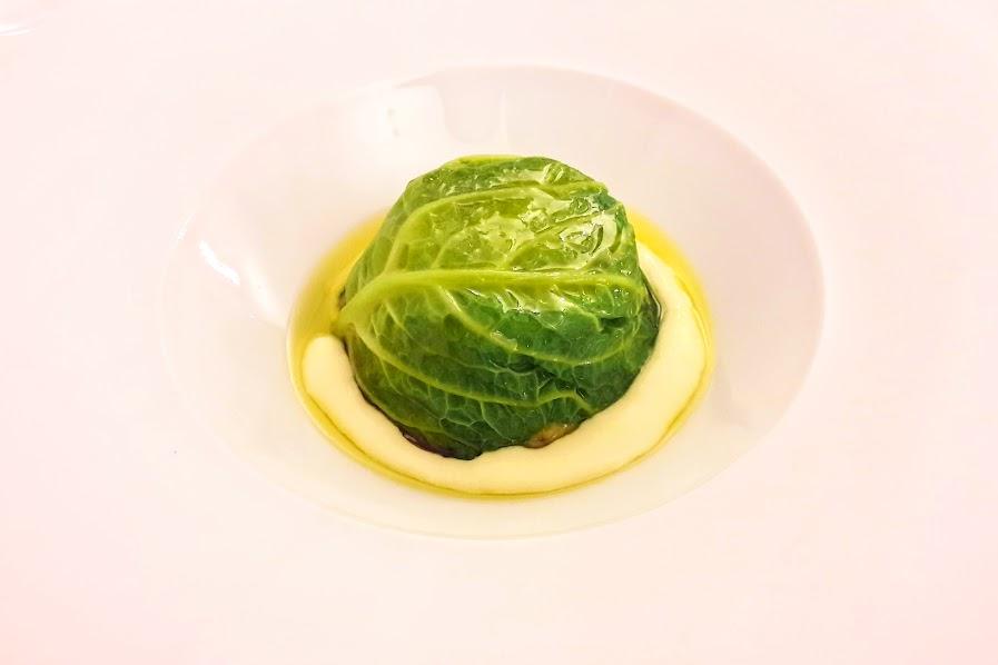 Verza e patate; Irina Steccanella; Trattoria Irina