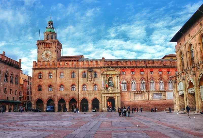 Palazzo D' Accursio; foto@Guide Bologna