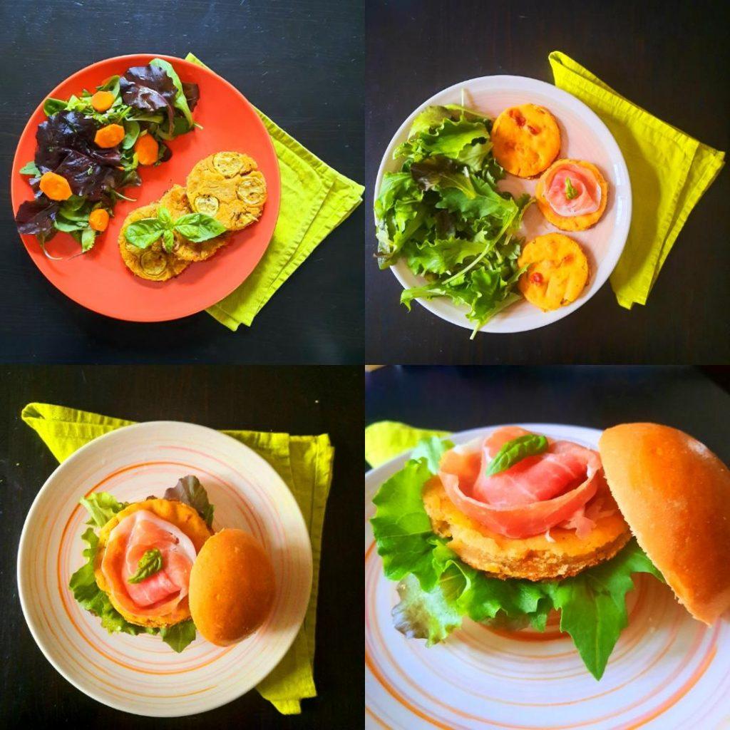 Ricette con la farina di ceci: frittata in padella e al forno, burger di frittata