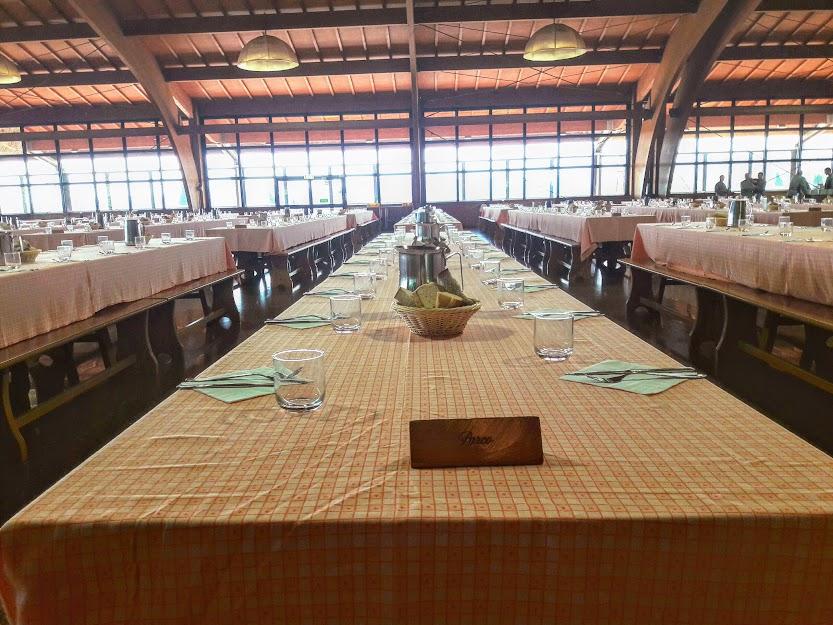 La sala da pranzo di San Patrignano